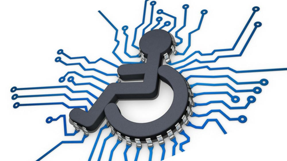 Assistive technology clipart image black and white Market Potential for Assistive Technology for Disabled and Elderly image black and white