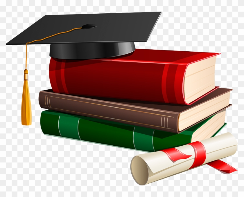 Associate degree clipart banner library Diploma Clipart Bachelor Degree - Graduation Cap And Books, HD Png ... banner library