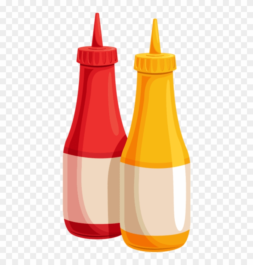 Assortment of sauce bottles clipart picture library Free Png Download Ketchup And Mustard Bottles Clipart - Ketchup And ... picture library