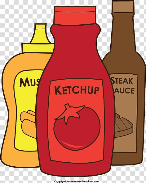 Assortment of sauce bottles clipart svg freeuse Barbecue Hamburger , Bbq sauce transparent background PNG clipart ... svg freeuse