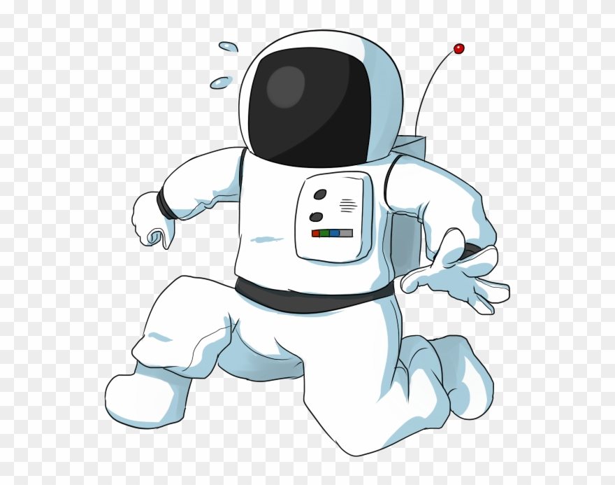 On the moon clipart