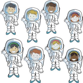 Astronaot clipart clip art library stock Space and Astronaut Clipart clip art library stock