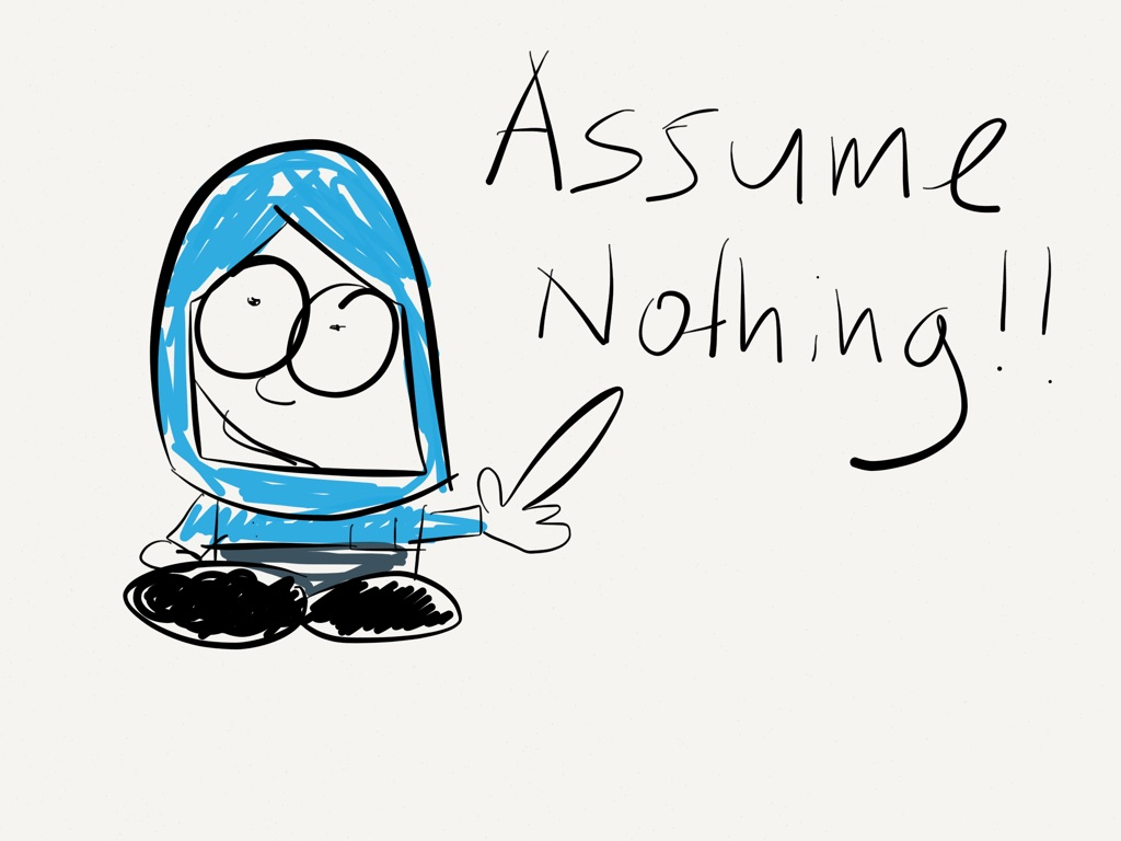 Assumptios clipart graphic freeuse download Assumptions Are An Interesting One, As They Convince Us Of A T - 768 ... graphic freeuse download