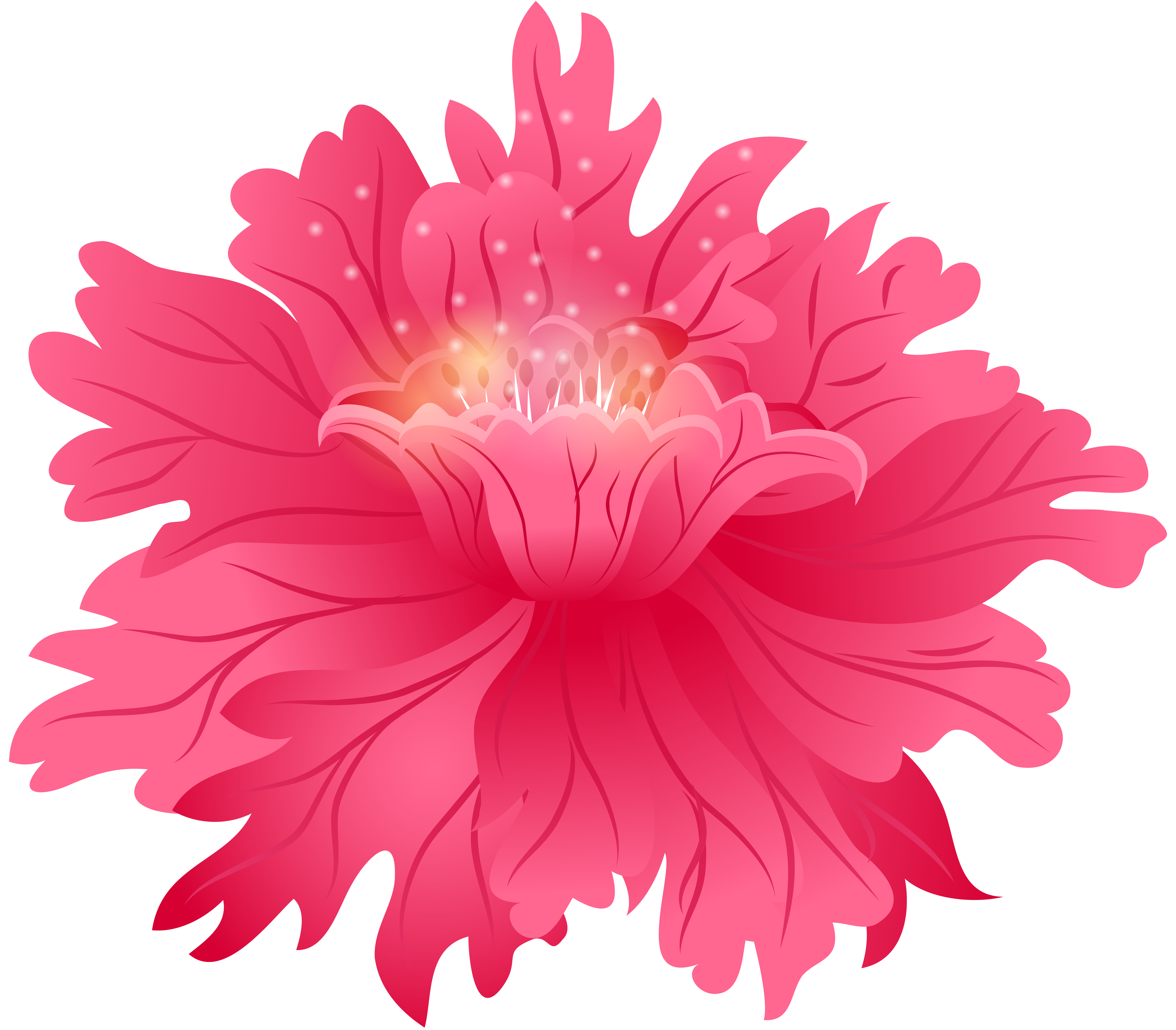 Aster flower clipart banner freeuse Red Flower PNG Clip Art Image | Gallery Yopriceville - High-Quality ... banner freeuse