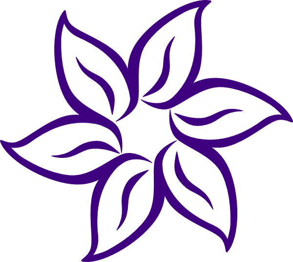 Aster flower clipart image transparent library Clipart Purple Flowers | Clipart Panda - Free Clipart Images image transparent library