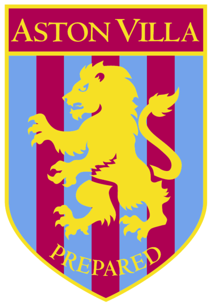 Aston villa badge clipart image library library Pin by The Dog & Parrot Pub on Footy | Aston villa fc, Aston villa ... image library library