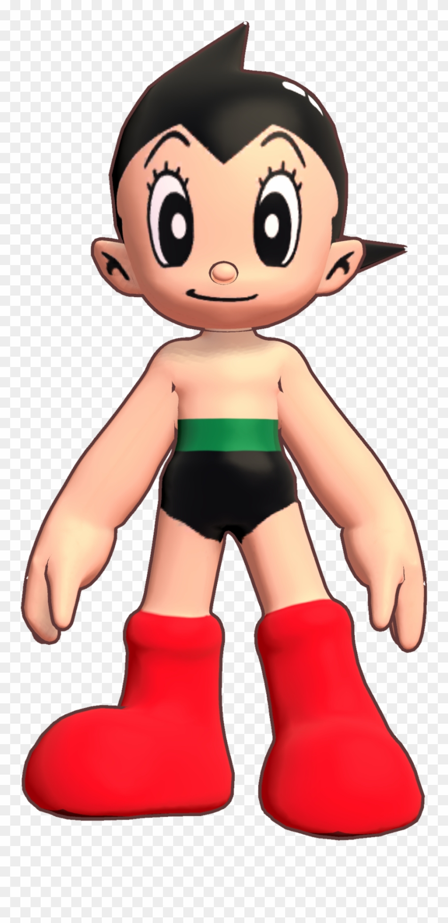 Astro boy clipart image black and white stock 3d Clipart Boys - Astro Boy Dash 3d - Png Download (#3807994 ... image black and white stock