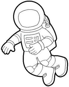 Astronaut clipart white and black graphic freeuse library Astronaut clipart black and white 7 » Clipart Station graphic freeuse library