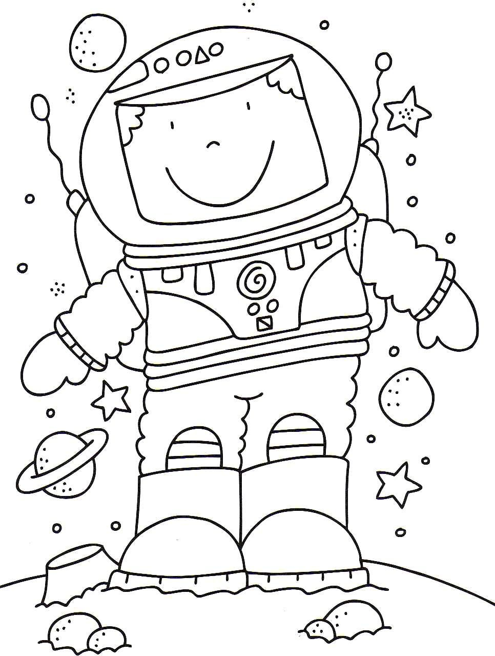 Astronaut clipart coloring realistic picture transparent astronaut coloring pages - Google Search | Space | Space coloring ... picture transparent