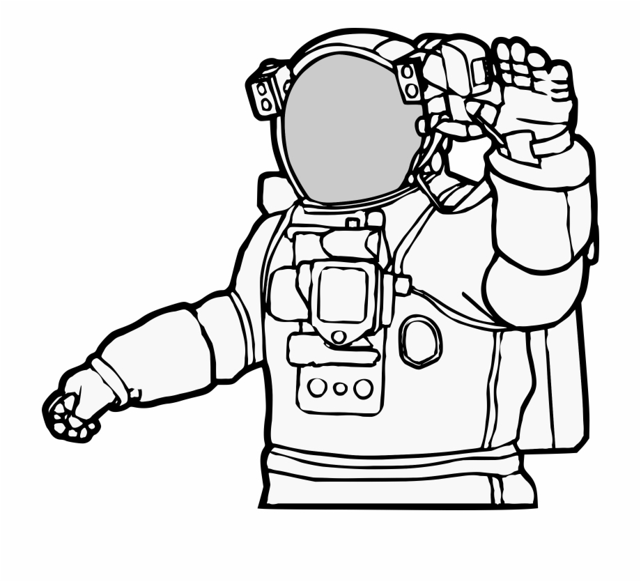 Astronaut clipart coloring realistic clip stock Astronaut Realistic Astronaut Clip Art - Clip Art Library clip stock