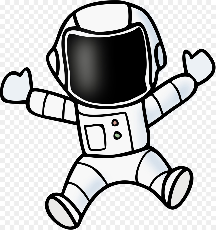 Library of astronaut drawing clip art royalty free png ...