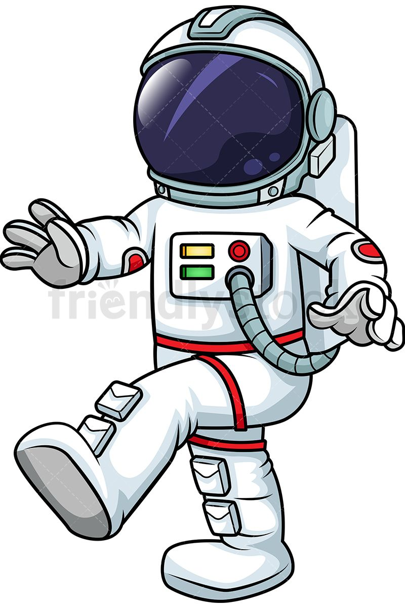 Astronaut gloves clipart clipart library stock Male Astronaut Walking In Zero Gravity | Clip Arts | Astronaut ... clipart library stock