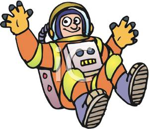 Astronaut gravity clipart vector free download An Astronaut In Low Gravity Clipart Picture vector free download