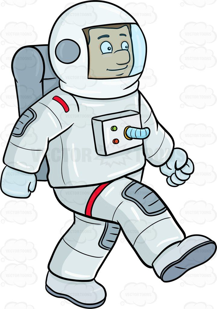 Astronaut gravity clipart freeuse stock A male astronaut enjoy striding on a foreign surface #air #astronaut ... freeuse stock