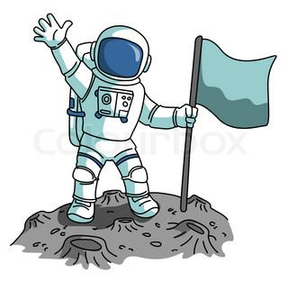 Astronaut holding flag clipart banner free download houston we have a problem | c o n t e n t t a l k | Astronaut ... banner free download