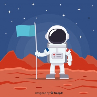 Astronaut in space clipart background clipart transparent Astronaut Vectors, Photos and PSD files | Free Download clipart transparent