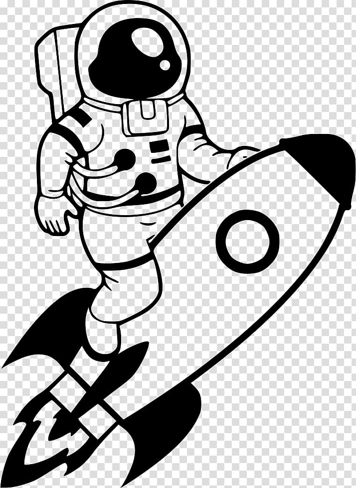 Astronaut on line clipart image free stock Spaceman , Space suit Astronaut NASA , astronaut transparent ... image free stock