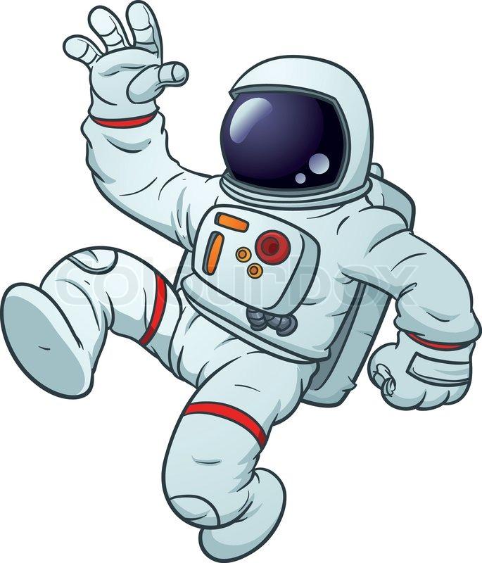 Astronaut on line clipart clip stock Cute Astronaut Cliparts - Making-The-Web.com clip stock