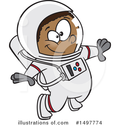 Astronaut singing clipart svg stock Astronaut Clipart #1497774 - Illustration by toonaday svg stock