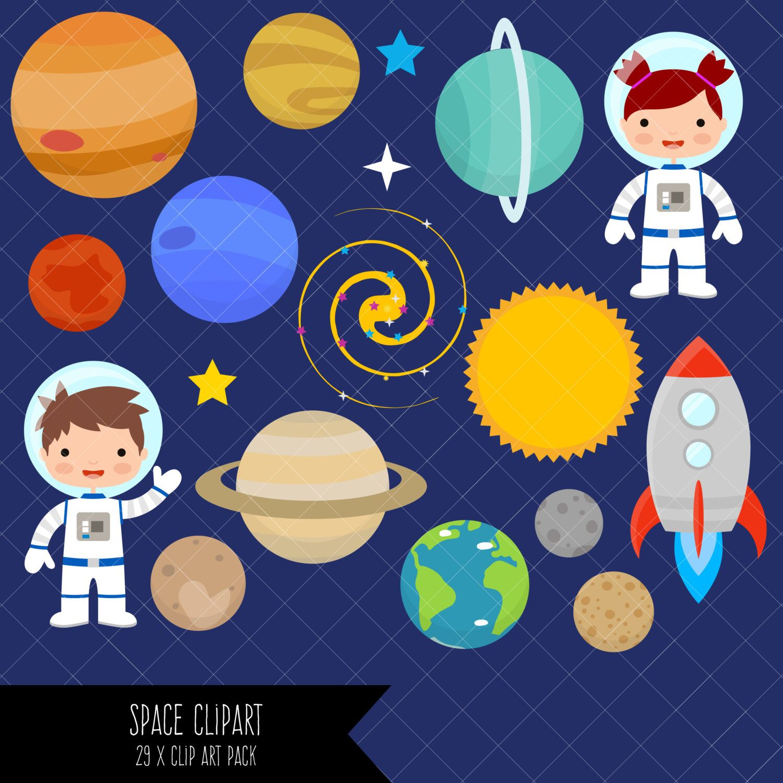 Como cambiar las dimensiones de una imagen clipart svg freeuse Space Clipart / Planets Clipart / Astronaut Clipart / Clip Art ... svg freeuse