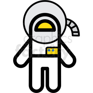 Astronaut vector clipart banner free library astronaut vector icon . Royalty-free icon # 406229 banner free library