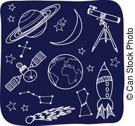 Astronomical clipart clip art black and white Astronomy Vector Clipart Royalty Free. 72,133 Astronomy clip art ... clip art black and white