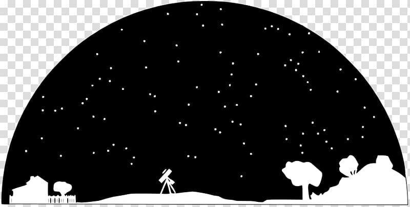 Astronomy clipart png image transparent Trees and telescope illustration, Astronomy Astronomer Universe Free ... image transparent