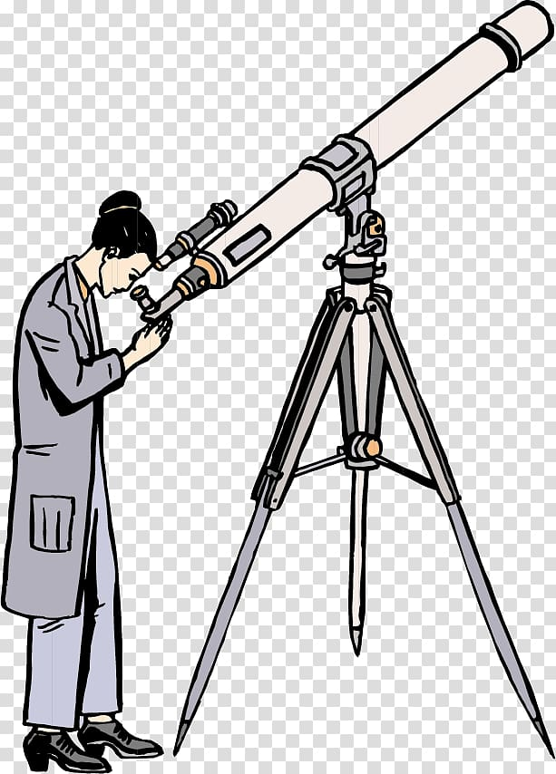 Astronomy clipart png png free stock Astronomer Astronomy , Look telescope woman transparent background ... png free stock