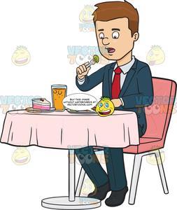 At a resturaunt clipart png transparent download Man Eating A Meal At A Restaurant png transparent download