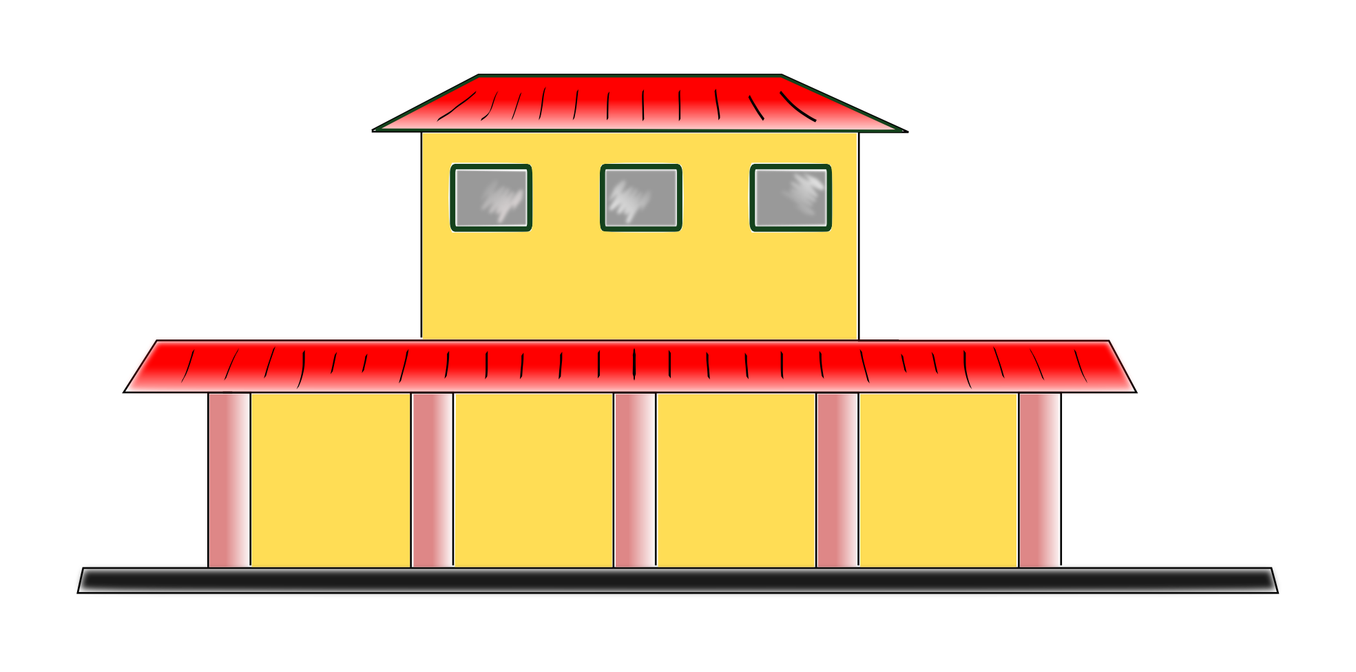 Train depot clipart graphic freeuse library Free Train Station Clipart, Download Free Clip Art, Free Clip Art on ... graphic freeuse library