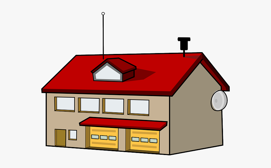 Info station . Free fire department logo clipart