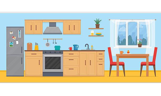 At the kitchen clipart jpg stock Kitchen Clipart & Look At Clip Art Images - ClipartLook jpg stock