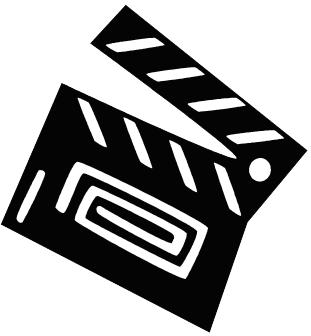 At the movies clipart black and white vector black and white Free Movie Time Cliparts, Download Free Clip Art, Free Clip Art on ... vector black and white