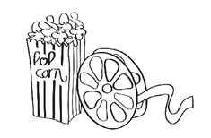 At the movies clipart black and white vector royalty free 24 Best drive in movie party images in 2013 | Movie party, Movie ... vector royalty free