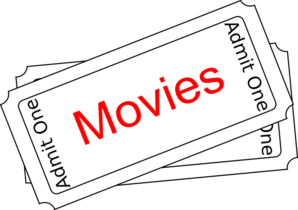Movie ticket clipart banner library stock Free Movie Clip Art Pictures - Clipartix banner library stock