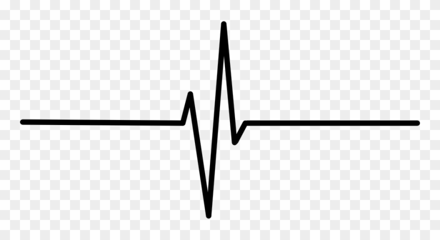 At the rate black clipart vector transparent stock Line Clipart Heartbeat - Black Heart Rate Transparent Background ... vector transparent stock
