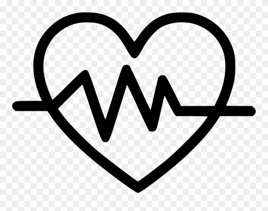 At the rate black clipart vector black and white library Heart Rate Comments Clipart (#1824678) - PinClipart vector black and white library