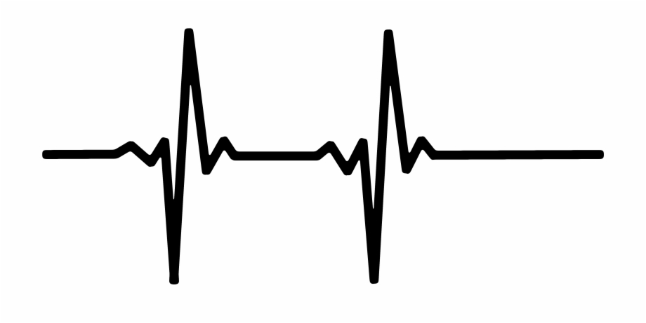 At the rate black clipart banner black and white Heart Rate Pulse Live Line Wave 459225 - Heart Rate Black Free PNG ... banner black and white