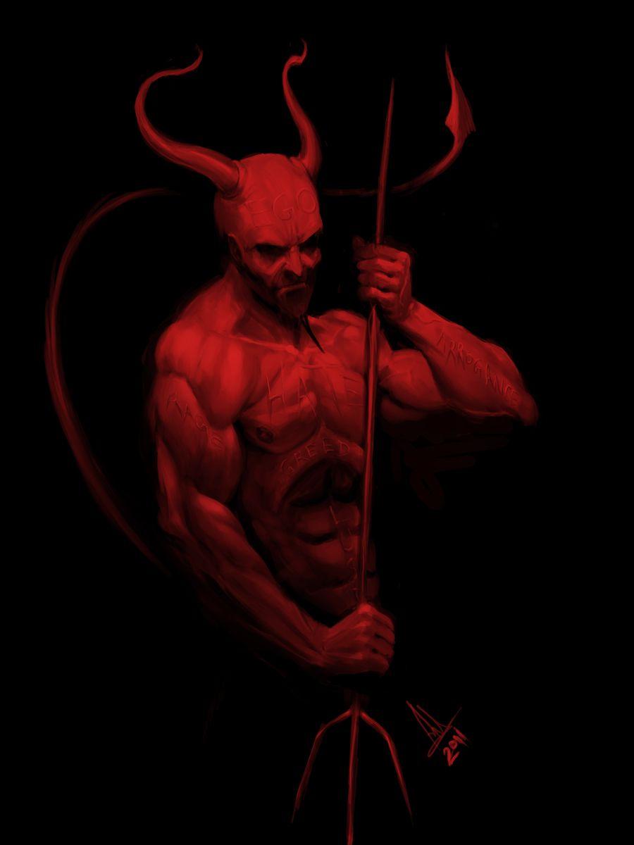 Devil art photography clipart