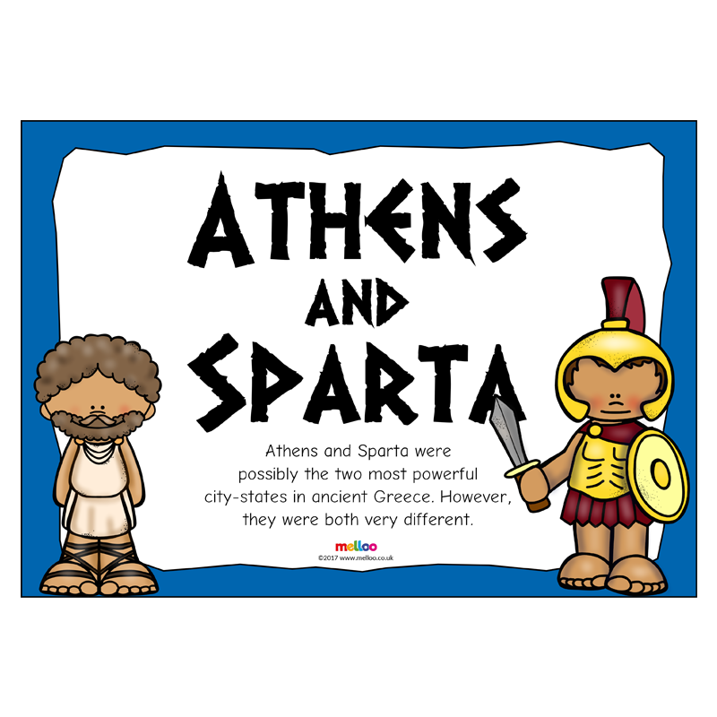 Athen and spartan clipart clip free stock Athens and Sparta | History | KS2 clip free stock