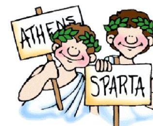 Athen and spartan clipart graphic royalty free library Spartan and Athenian Differences. | World History graphic royalty free library