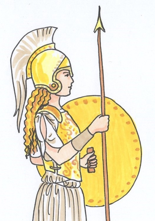 Athena pictures clipart image library library Athena the most powerful mind of the ancient world - Greek Mythology ... image library library