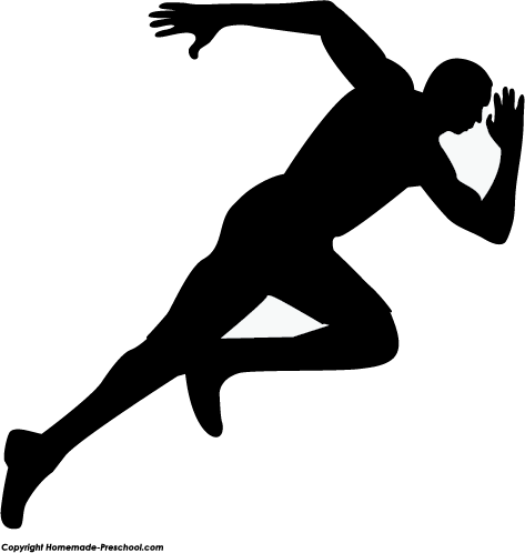Silhouette runner clipart png freeuse download Athlete clipart silhouette, Athlete silhouette Transparent FREE for ... png freeuse download