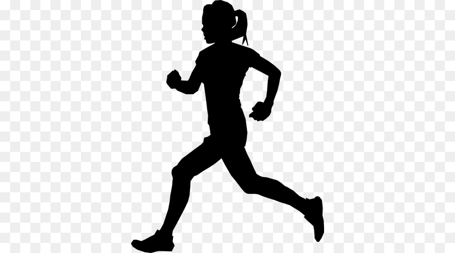 Athlete clipart silhouette vector freeuse stock Person Cartoon clipart - Silhouette, Sports, Running, transparent ... vector freeuse stock