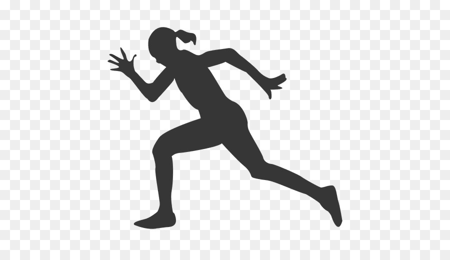 Athlete clipart silhouette jpg black and white stock Fitness Cartoon clipart - Running, Sports, Silhouette, transparent ... jpg black and white stock