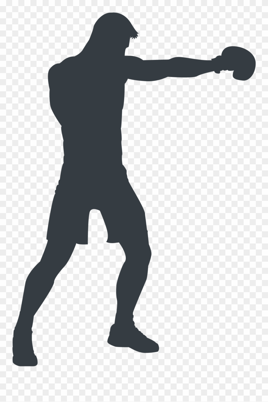 Athlete clipart silhouette clipart download Athlete Silhouette - Boxing Clipart (#1508307) - PinClipart clipart download