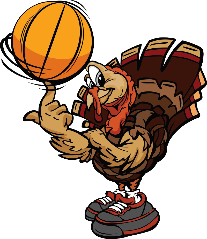 Fancy basketball clipart. Blogdailyherald turkey logo for