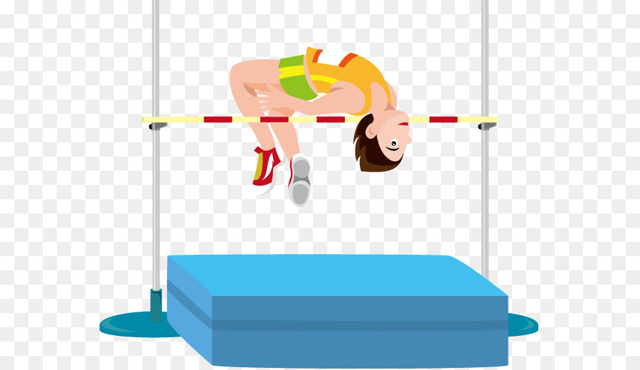 Athletics high jump clipart jpg library stock Paper Clip png download - 619*519 - Free Transparent Jumping png ... jpg library stock