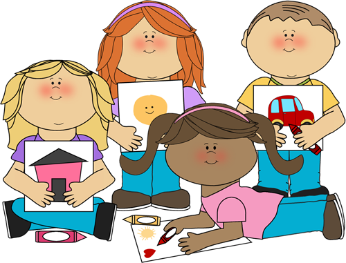 Classroom groups clipart