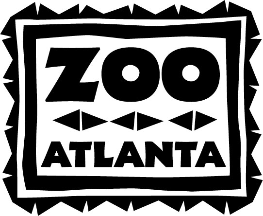 Atlanta black and white clipart banner royalty free stock Brand Assets - Zoo Atlanta banner royalty free stock